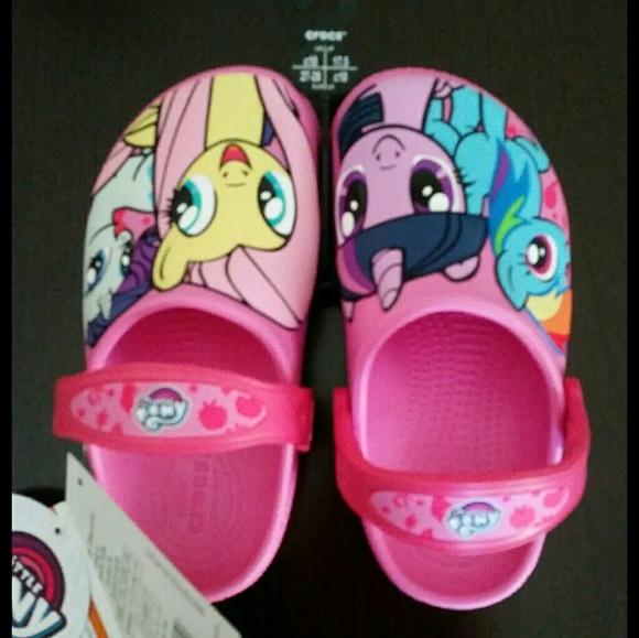 CROCS Shoes   New My Little Pony Crocs